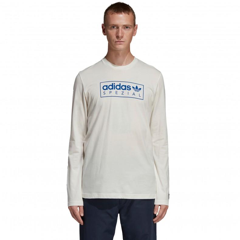 0f0a05307 adidas Originals x SPEZIAL Graphic Long Sleeve T-Shirt (Off White) - DM1355  - Consortium.