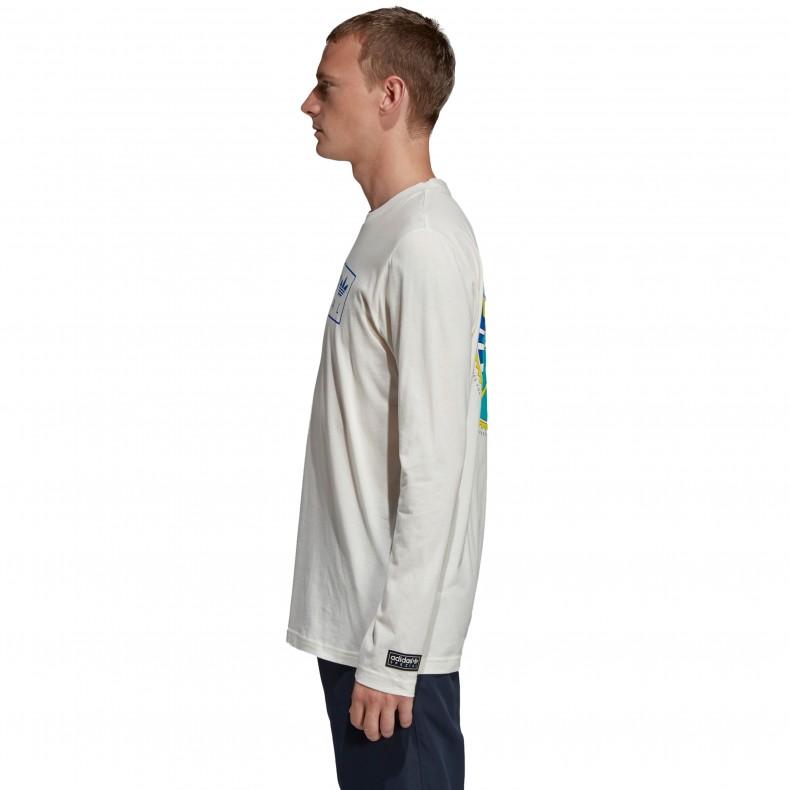 94fb46fc5 adidas Originals x SPEZIAL Graphic Long Sleeve T-Shirt (Off White ...