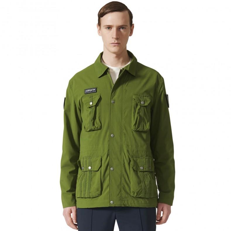 adidas Originals x SPEZIAL Haslingden II Jacket (Craft Green ...