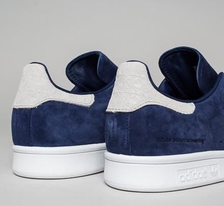 8f0e87769ca697 adidas Originals x White Mountaineering Stan Smith. (Dark Blue Dark Blue  Footwear ...