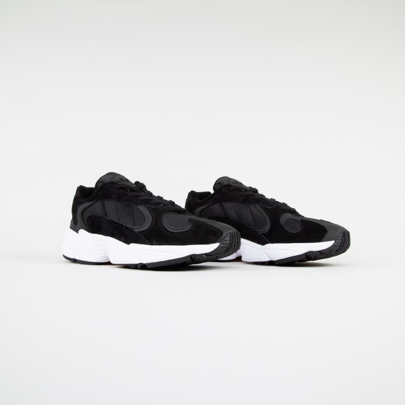 66dc19d7ea2bdf adidas Originals Yung-1 (Core Black Core Black Footwear White ...