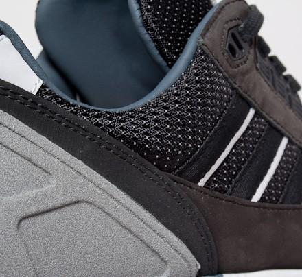 Originales Adidas Zx 8000 De Torsión De Cuero Marrón ccVK5khpw