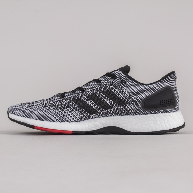 various colors 36cc0 1985c ... 2.0 black red closer look the sole supplier ef4d7 adfdc closeout adidas  pureboost dpr grey core black footwear white consortium. d3051 98d87