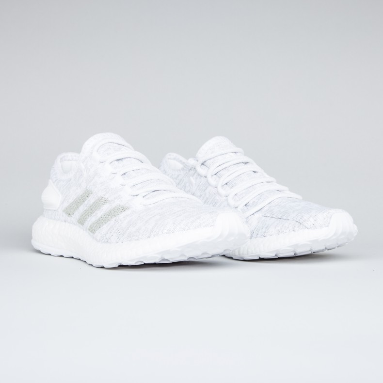adidas pure boost one white grey