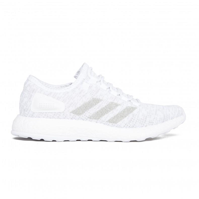 c94fabaaf5ab4 adidas PureBOOST (Footwear White Grey One Footwear White) - Consortium.