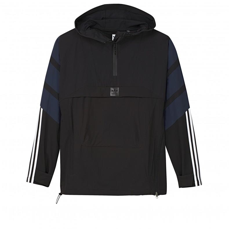 72852a44e8b adidas Skateboarding 3-Stripes Jacket (Black/Collegiate Navy/Carbon ...