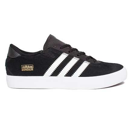 outlet store 55ef2 a6b12 Adidas Skateboarding Gonz Pro (Black 1Running White FTWBlack 1) -  Consortium