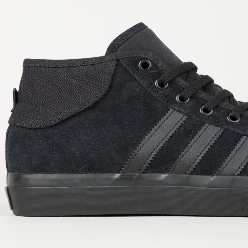 adidas Skateboarding Matchcourt Mid ADV (Core Black Core Black Core ... cc941bfb8