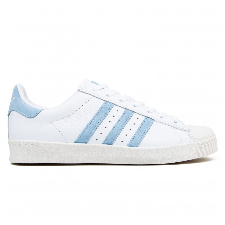 9807f63dd33 adidas Skateboarding x Krooked Superstar Vulc (Footwear White/Customized/Chalk  White) - Consortium