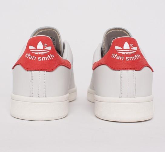 Adidas Stan Smith Vintage Neo White & Collegiate Red