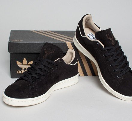 f1953a98c74c Adidas Stan Smith OG Made In Germany (Core Black Core Black Cream White) -  Consortium.