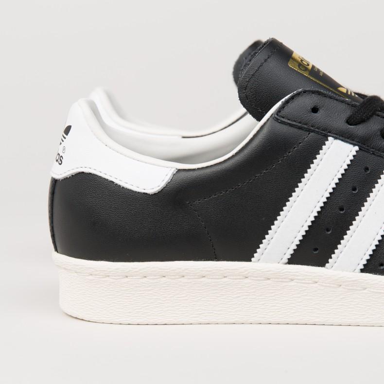 sale retailer 864d1 351d6 adidas Superstar 80s (Black/White/Chalk White)
