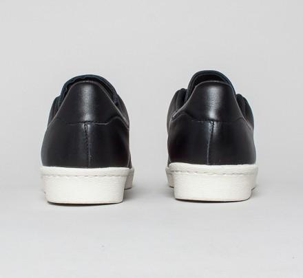 best service 90a07 17daf Adidas Superstar 80s Clean (Core Black/Core Black/Gold Met.)