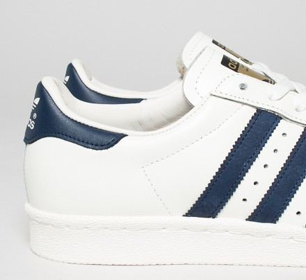 adidas superstar navy off white
