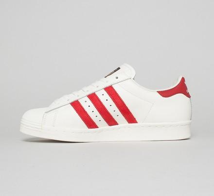 Adidas Superstar 80s Dlx Rød 1xupUrXO