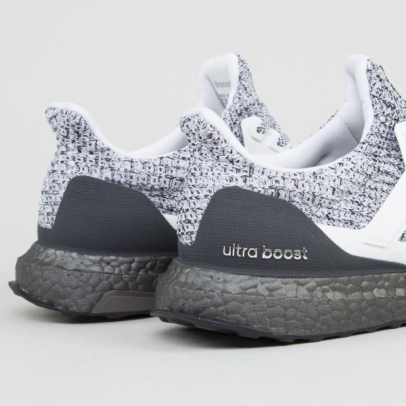 adidas UltraBOOST 4.0  Oreo  (Footwear White Footwear White Grey ... 94784e0ae323