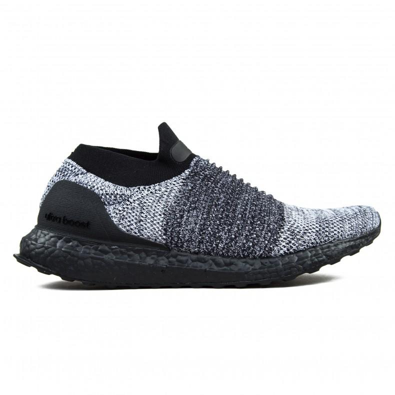 842bd4ffa4 adidas UltraBOOST LACELESS (Core Black Core Black Footwear White) -  Consortium.