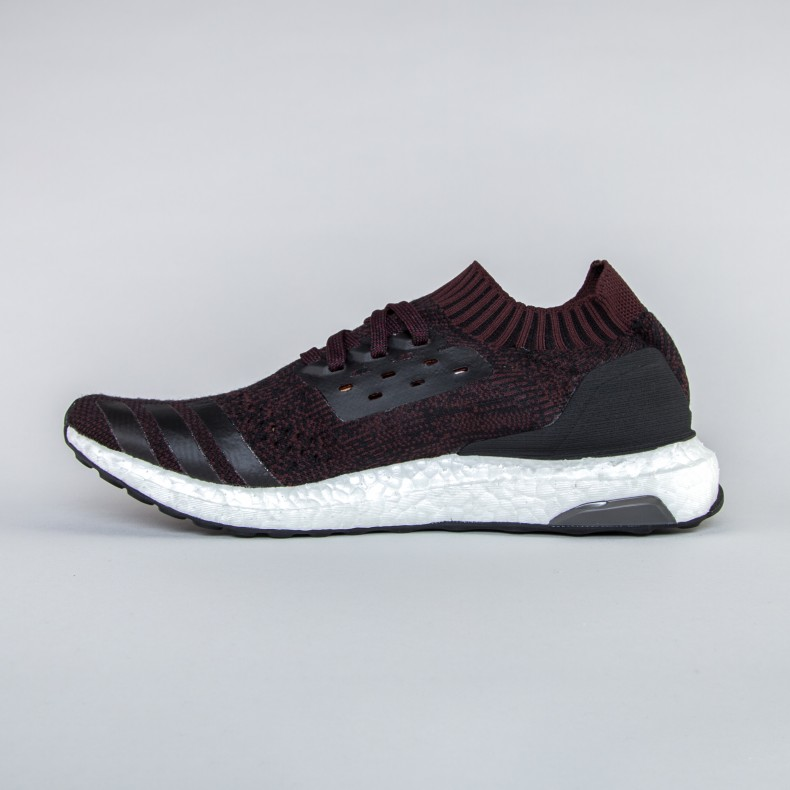 casual shoes many fashionable sale uk adidas UltraBoost Uncaged (Core Black/Dark Burgundy/Core Black)