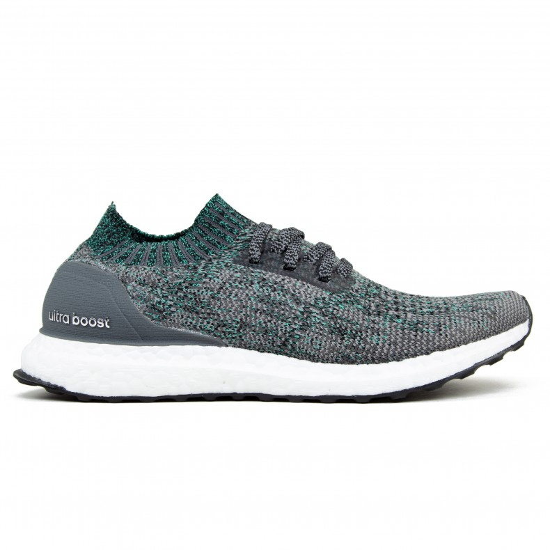 adidas UltraBoost Uncaged (Grey TwoGrey FiveHi Res Green)