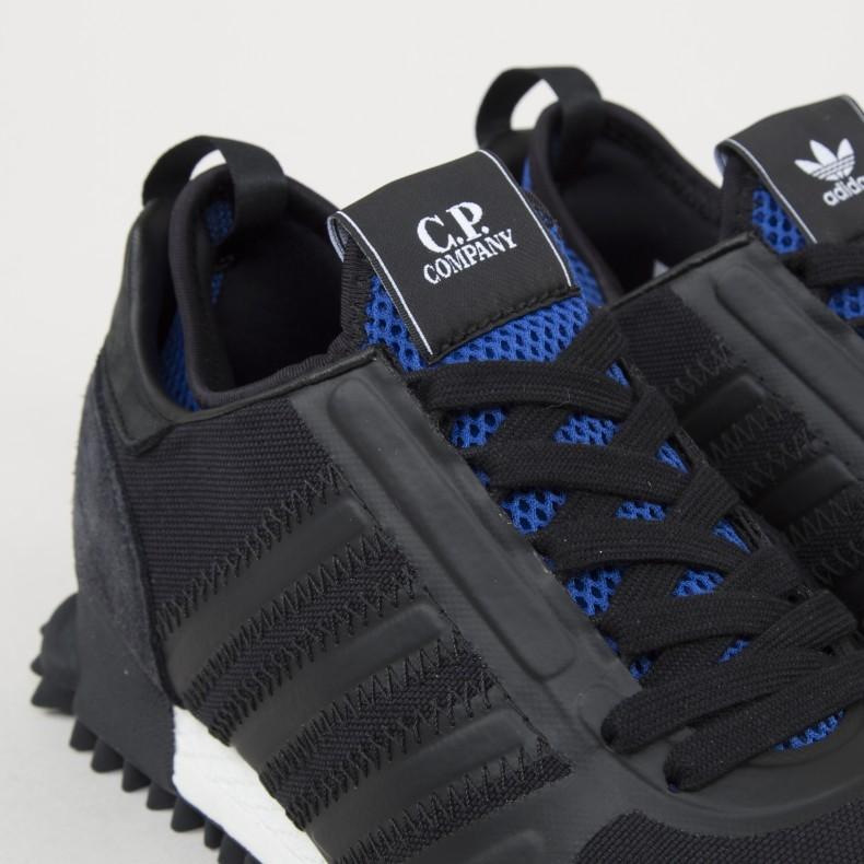 online retailer 4a35b cf4a4 adidas x C.P. Company Marathon (Core Black/Core Black ...