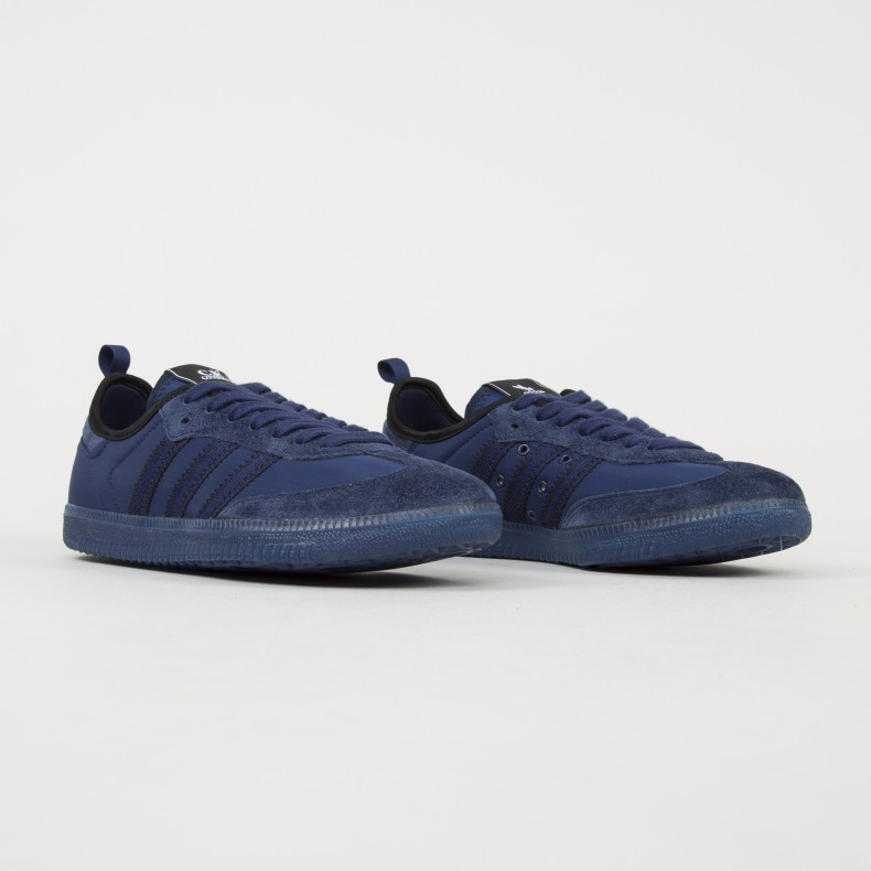super popular 43ebd 2b911 adidas x C.P. Company Samba (Dark Blue/Night Sky/Dark Purple ...