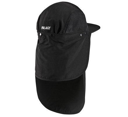 Adidas x Palace 5 Panel Cap (Black) - Consortium. fc31deda361