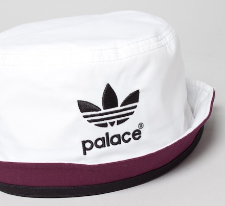bb0989a4 Adidas x Palace Bucket Hat (White) - Consortium.