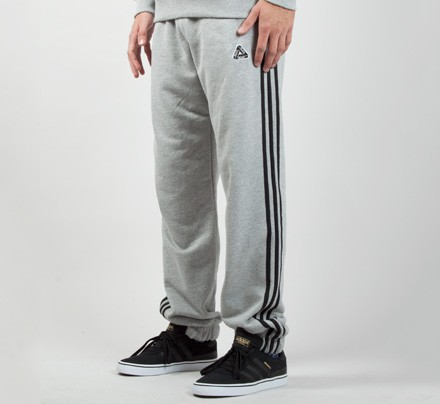 Adidas x Palace Jogger Pant (Heather Grey) Consortium.