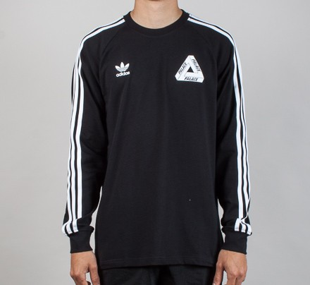 Shirt black T Adidas Consortium Sleeve X Palace Long xWwWAqXY8