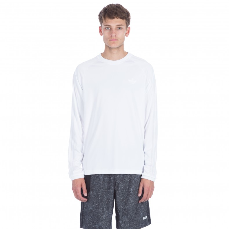 adidas x Palace Long Sleeve T Shirt (WhiteWhite) Consortium.