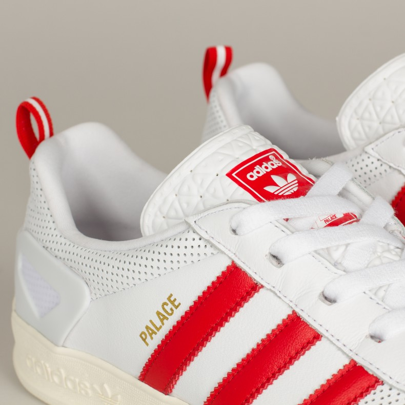Adidas x Palace Pro (Footwear WhiteRedGold Metallic