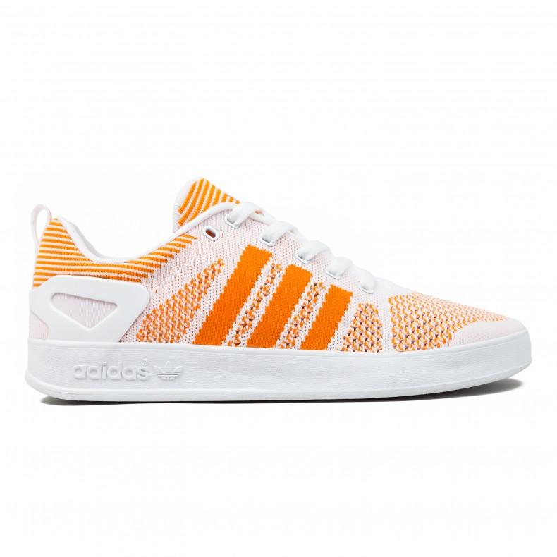 online store 96953 40a1e adidas x Palace Pro Primeknit (White Bright Orange Footwear White) -  Consortium.