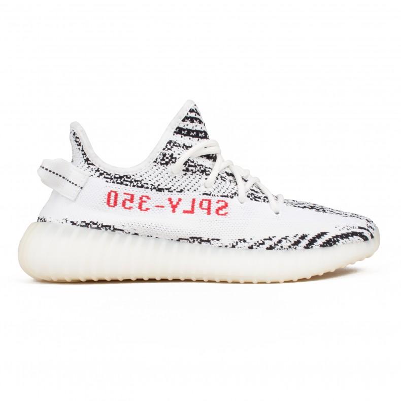 Adidas Yeezy Boost 350 'zebra'whitecore BlackredConsortium V2 DH9EI2