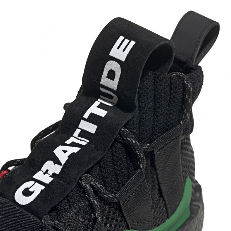 brand new cc9f3 01adb adidas Originals x Pharrell Williams Crazy BYW LVL X 'Gratitude & Empathy'  (Core Black/Green/Supplier Colour)