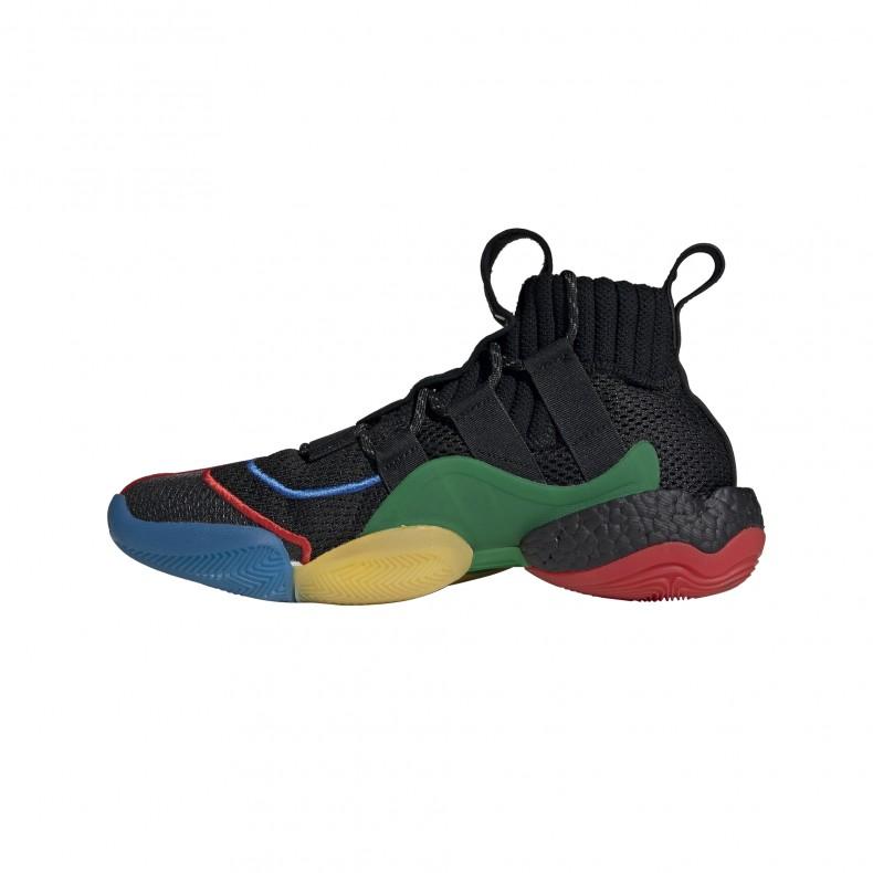 brand new df1ab 0e109 adidas Originals x Pharrell Williams Crazy BYW LVL X 'Gratitude & Empathy'  (Core Black/Green/Supplier Colour)