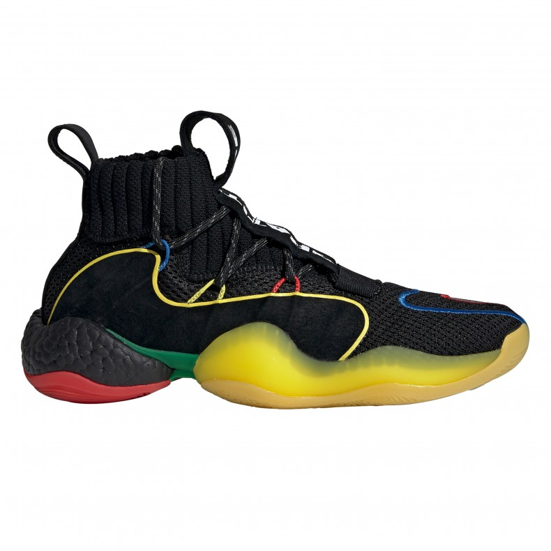 brand new 34bdc 7edf4 adidas Originals x Pharrell Williams Crazy BYW LVL X 'Gratitude & Empathy'  (Core Black/Green/Supplier Colour)