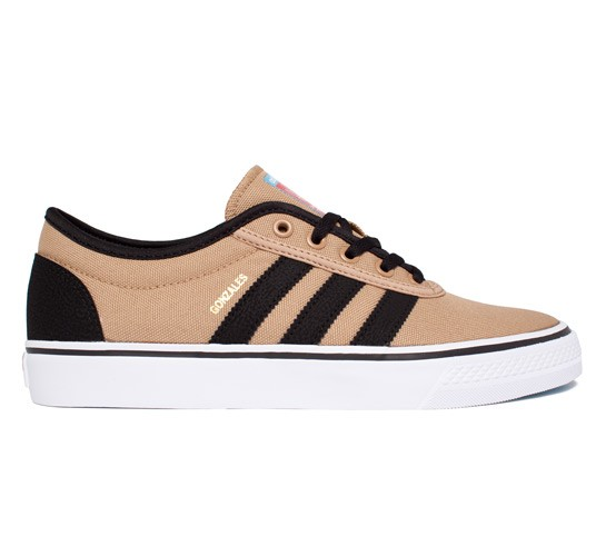 Adidas Mark Gonzales Shoes Red Stripes