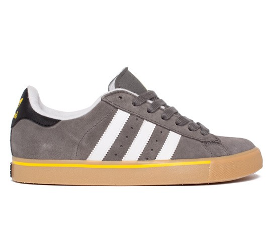finest selection 184e5 1c46f Adidas Skateboarding Campus Vulc (Mid Cinder F09 Running White FTW Vivid  Yellow S13) - Consortium.
