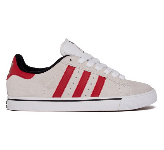 outlet store 5c90e 9aaf7 Adidas Skateboarding Campus Vulc (Running White University Red Black 1) -  Consortium.