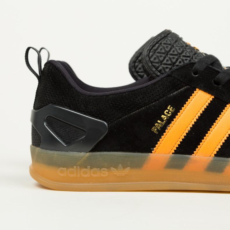 ba0af40c16a Adidas x Palace Pro (Core Black Bright Orange Gum 3) - Consortium.