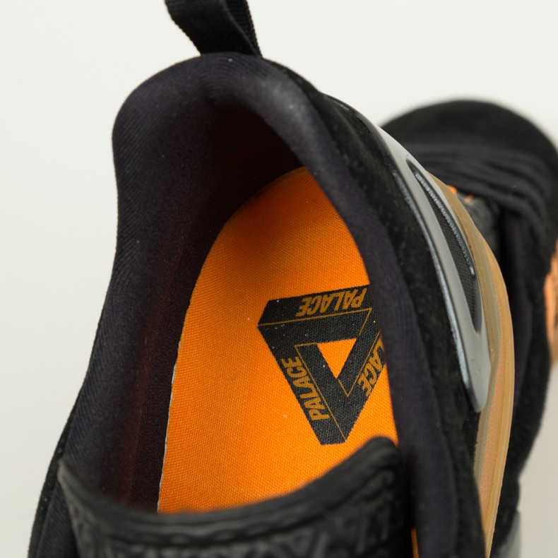 Adidas x Palace Pro (Core BlackBright OrangeGum 3
