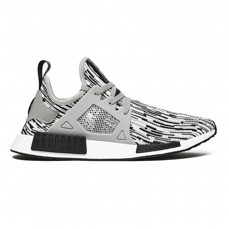 2186f0d07 adidas Originals NMD XR1 Primeknit  Oreo . (Core Black Medium Grey Heather  Solid Grey Footwear White)