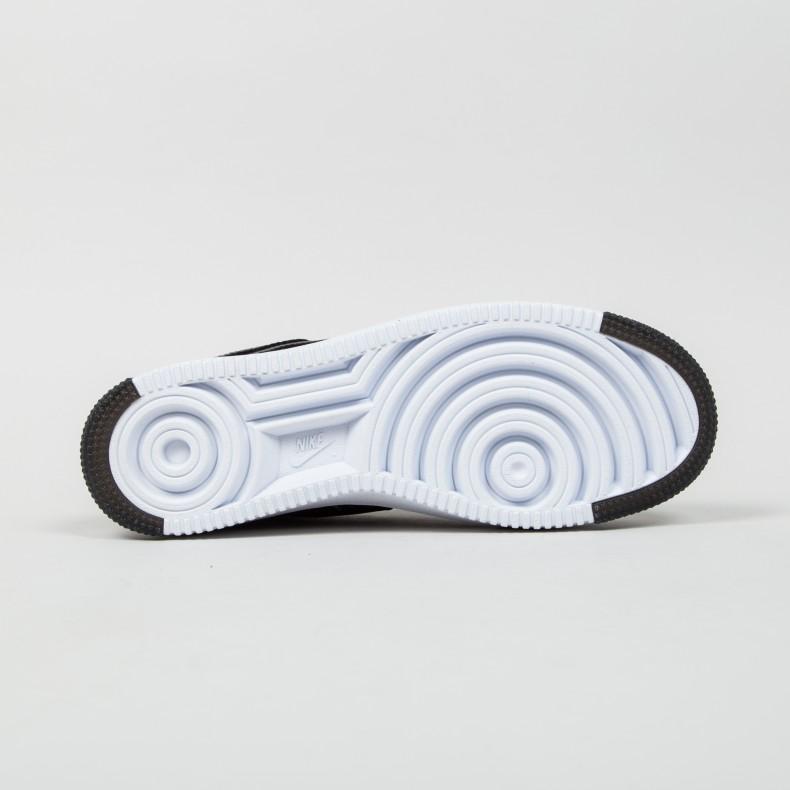wholesale dealer 7ede9 f8d09 Nike Air Force 1 Ultra Flyknit Mid (Black Bright Crimson-Court Purple-Volt)  - Consortium
