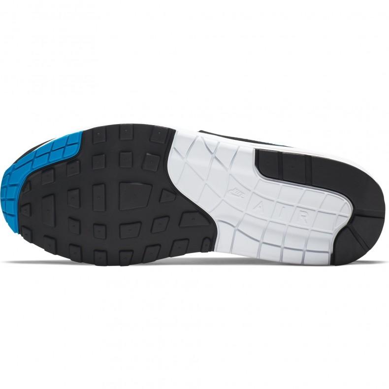 fc1a9df0654 Nike Air Max 1 'Photo Blue' (White/Photo Blue-Total Orange-Black ...