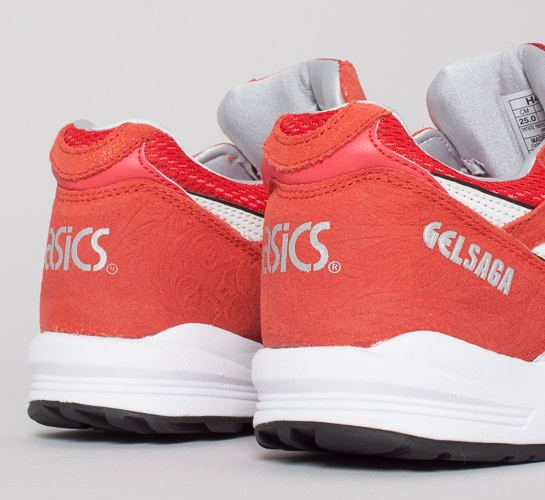 Asics Gel Saga Shoes Valentines Pack Fairy RedWhite