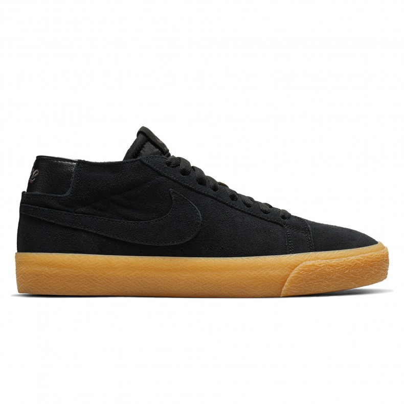 online store 849a9 9d13f Nike SB Zoom Blazer Chukka. (Black Black-Thunder Grey-Gum Light Brown)