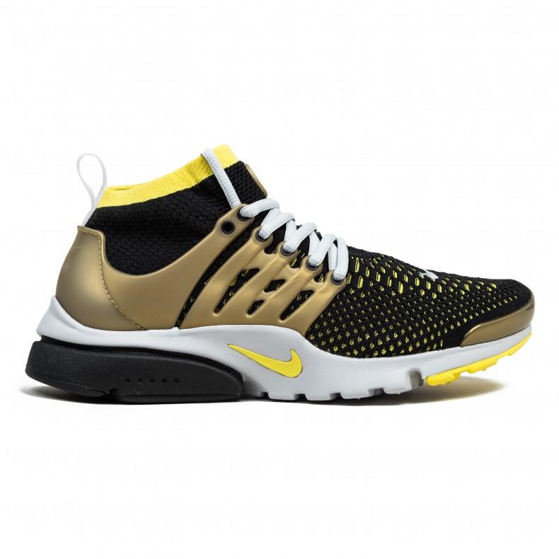 0bf022961e2 Nike Air Presto Flyknit Ultra (Black Yellow Streak-Metallic Gold) -  Consortium.