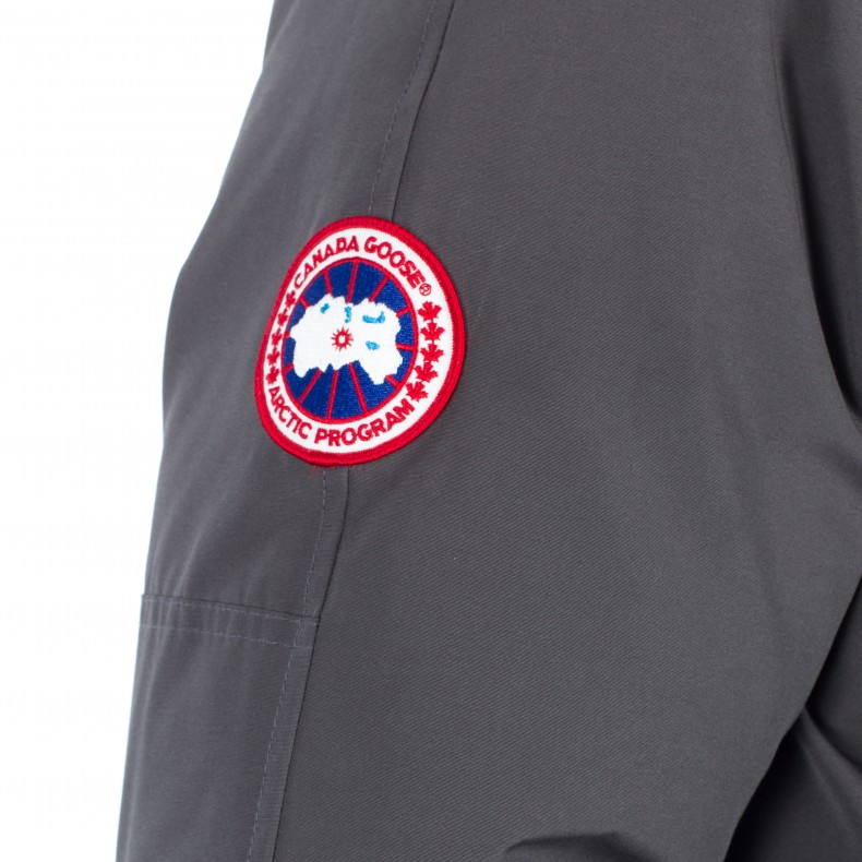 canada goose badge on right side