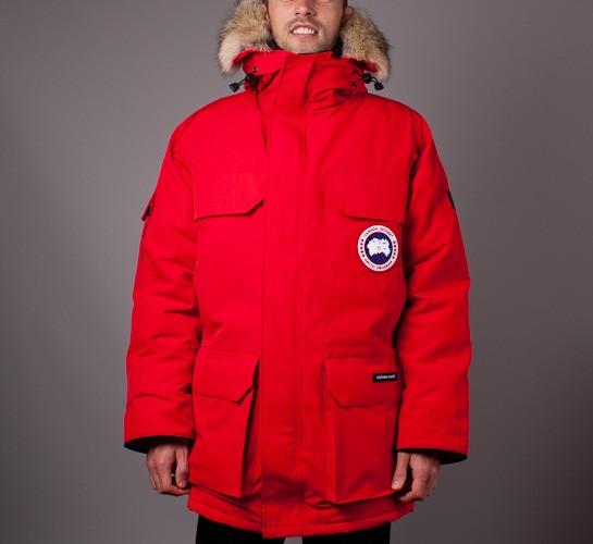 Canada Goose Expedition Parka (Red) Consortium.
