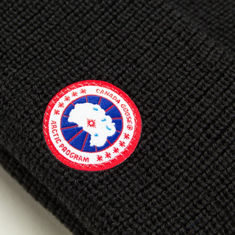 60edccc3ff9 Canada Goose Merino Watch Cap (Black) - Consortium.